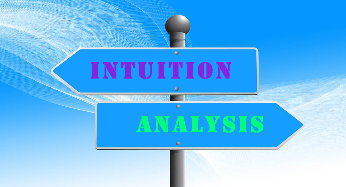 Arrows on signpost, intuition, analysis
