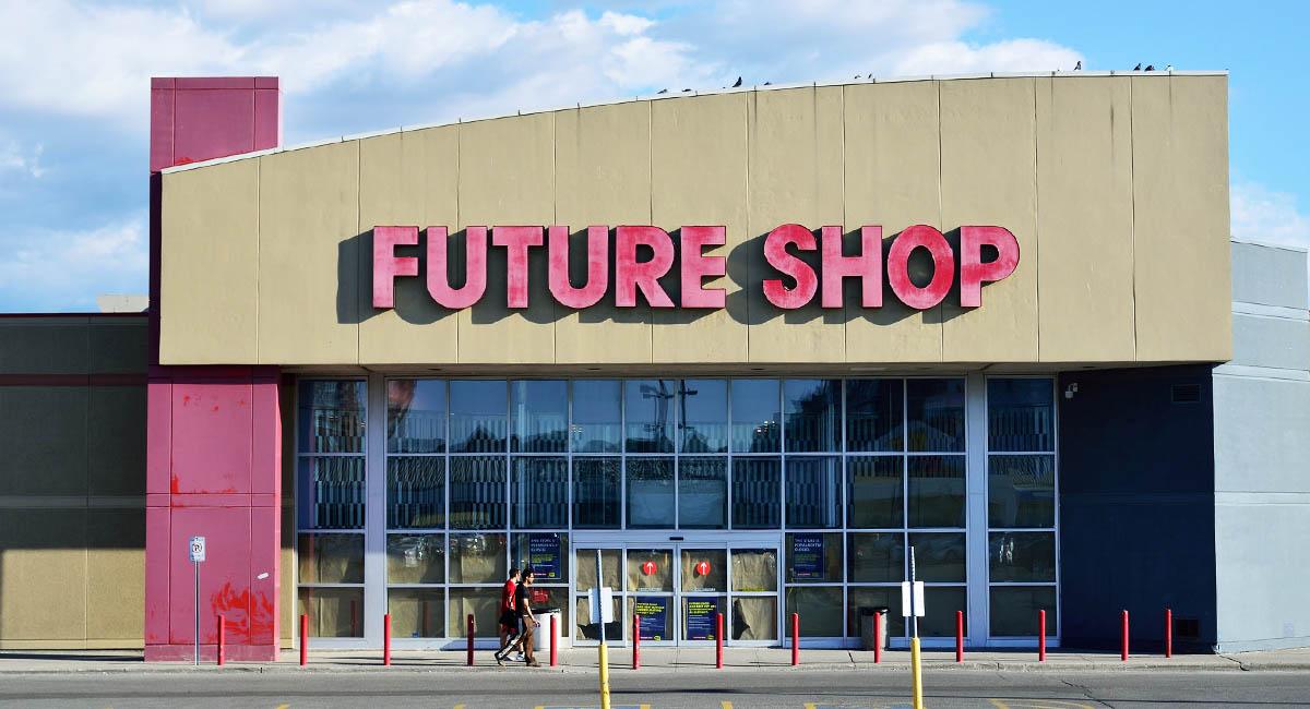"""""""Future Shop"""" storefront"""