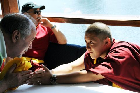 Buddhist teacher and monk