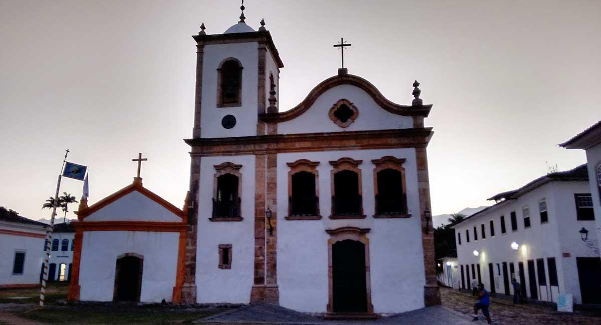 A church in Paraty