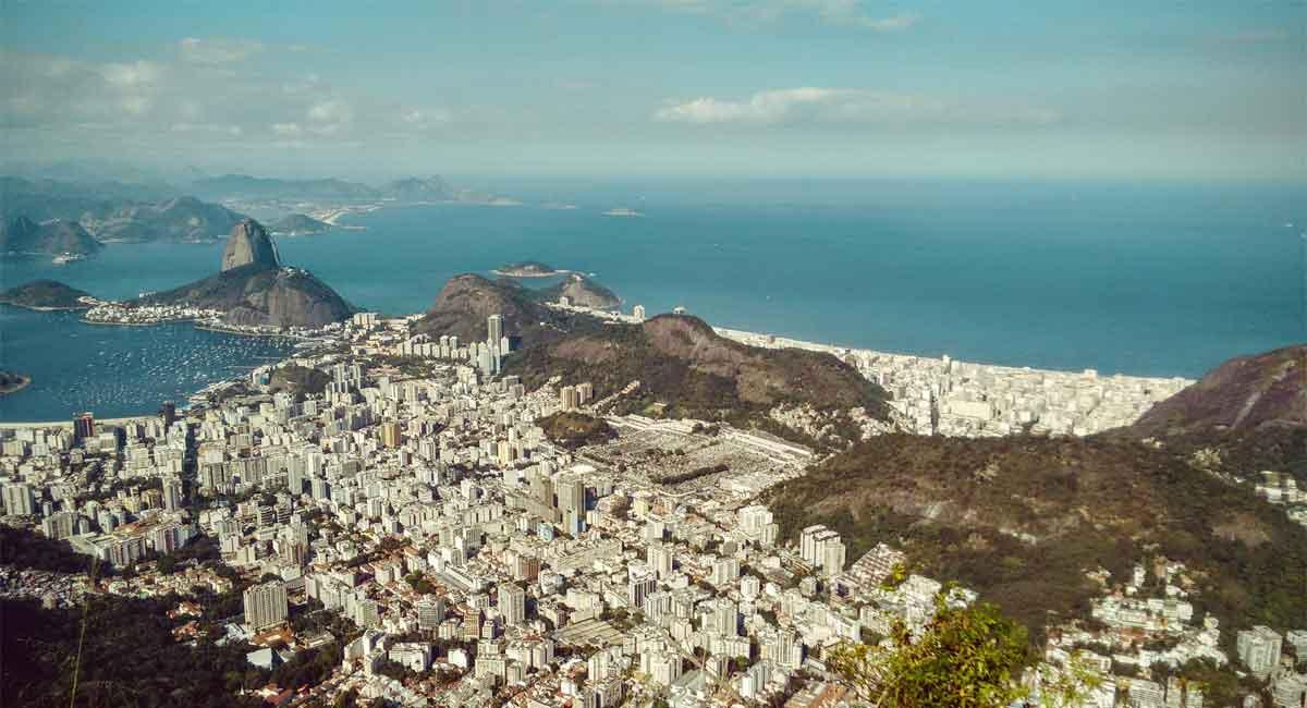 A view of Rio